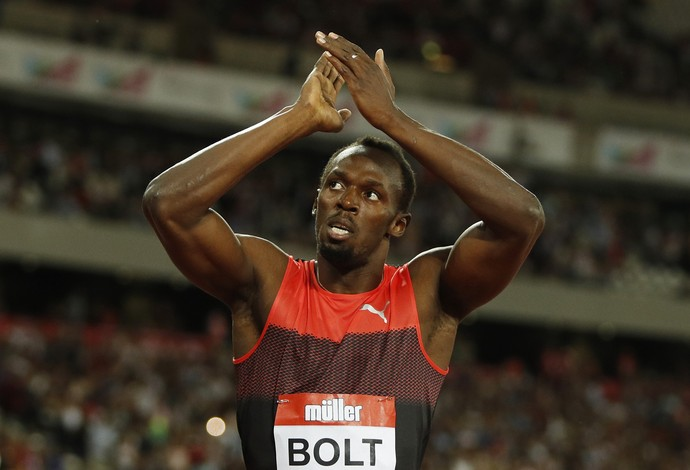 Usain Bolt 200m diamond league londres atletismo (Foto: Reuters)