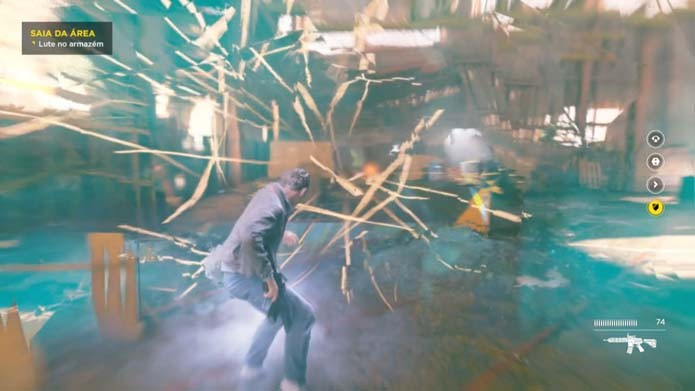 Abuse dos poderes de Jack em Quantum Break (Foto: Reprodução/Murilo Molina)e_1