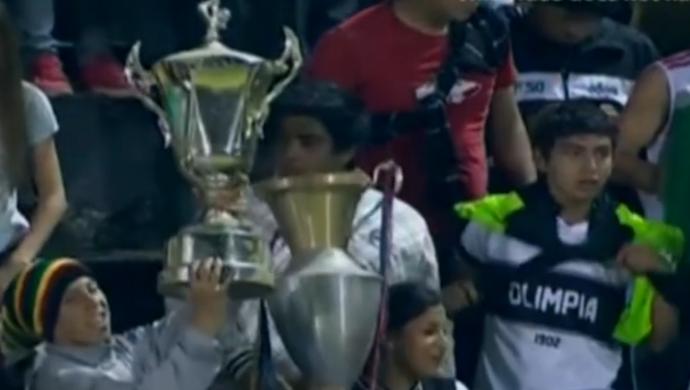 Olimpia Guaraní Paraguai (Foto: Reprodução do SporTV)