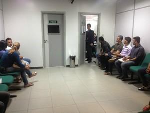 Audiência sobre morte de delegado tem 20 testemunhas de defesa em MS (Foto: Tatiane Queiroz/G1 MS)