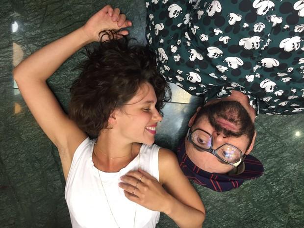 Bruna Linzmeyer e Neandro Ferreira (Foto: Reprodução/Instagram)