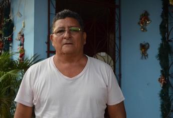 Lúcio Santarém, treinador e ex-jogador que esteve em Portugalna década de 80 (Foto: Weldon Luciano  - GloboEsporte.com)