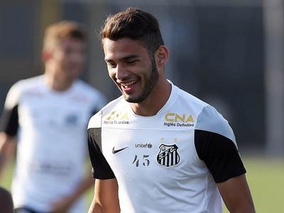 Thiago Maia vive expectativa de atuar no Maracanã (Foto: Pedro Ernesto Guerra Azevedo/ Santos FC)