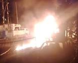 Bombeiro filma fogo no Rio: 'Vi gente em chama' (Magno Reis)