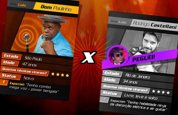 card batalha 1 (Foto: The Voice Brasil/TV Globo)