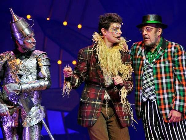 Miele em cena da superprodução 'O Mágico de Oz', de Möeller e Botelho (Foto: Divulgação)