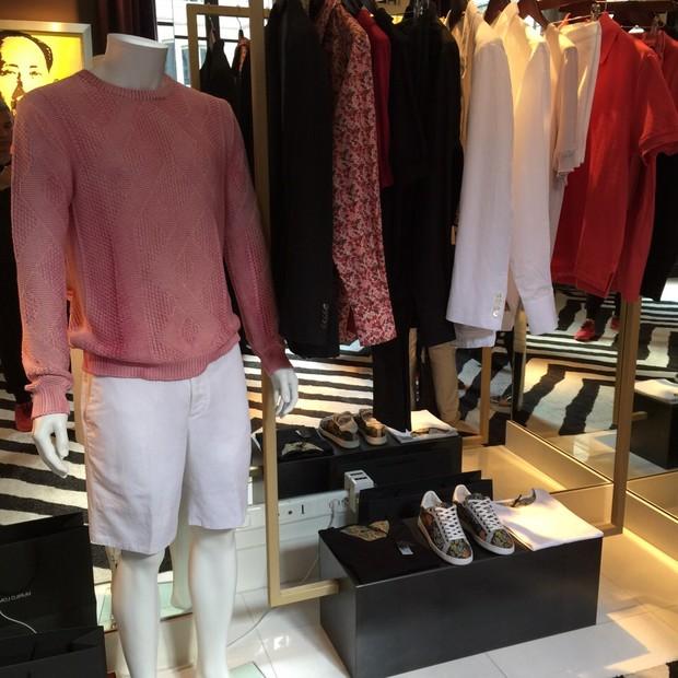 Murilo Lomas lançou sua linha masculina durante a Semana de Moda de Paris (Foto: Sylvain Justum)