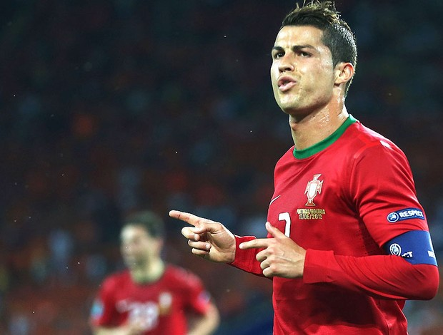 Cristiano Ronaldo, Portugal x Holanda (Foto: Getty Images)