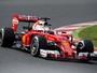Ferrari lidera primeiro dia de testes na Espanha. Williams experimenta asa