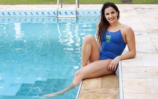 Gabi Roncatto, Musa da Olimpíada Rio 2016, posa pra o EGO (Foto: Ceso tavares / EGO)