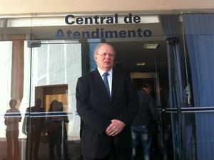 José Eduardo Alckmin, advogado de Arruda (Foto: Gabriel Luiz/G1)