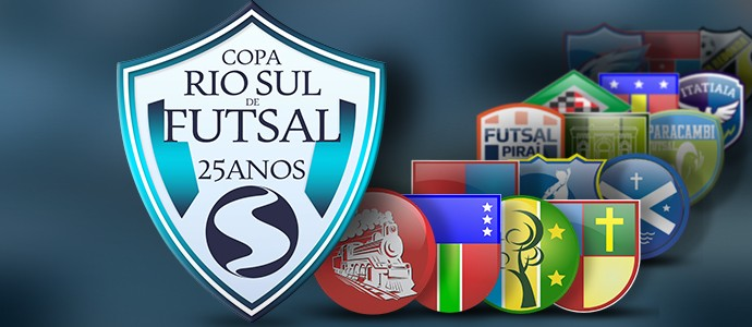 Copa Rio Sul de Futsal começa neste sábado! Veja quem entra em quadra f09618137e1a4