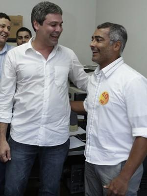 O deputado Romário (PSB-RJ) recebeu apoio do PT em sua candidatura ao Senado (Foto: Laura Pequeno/ Divulgação)