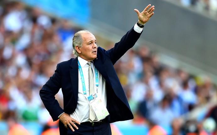 Alejandro Sabella final Alemanha x Argentina (Foto: Getty Images)