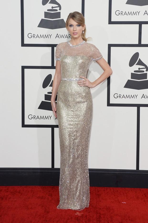 Taylor Swift no Grammy (Foto: AFP / Agência)