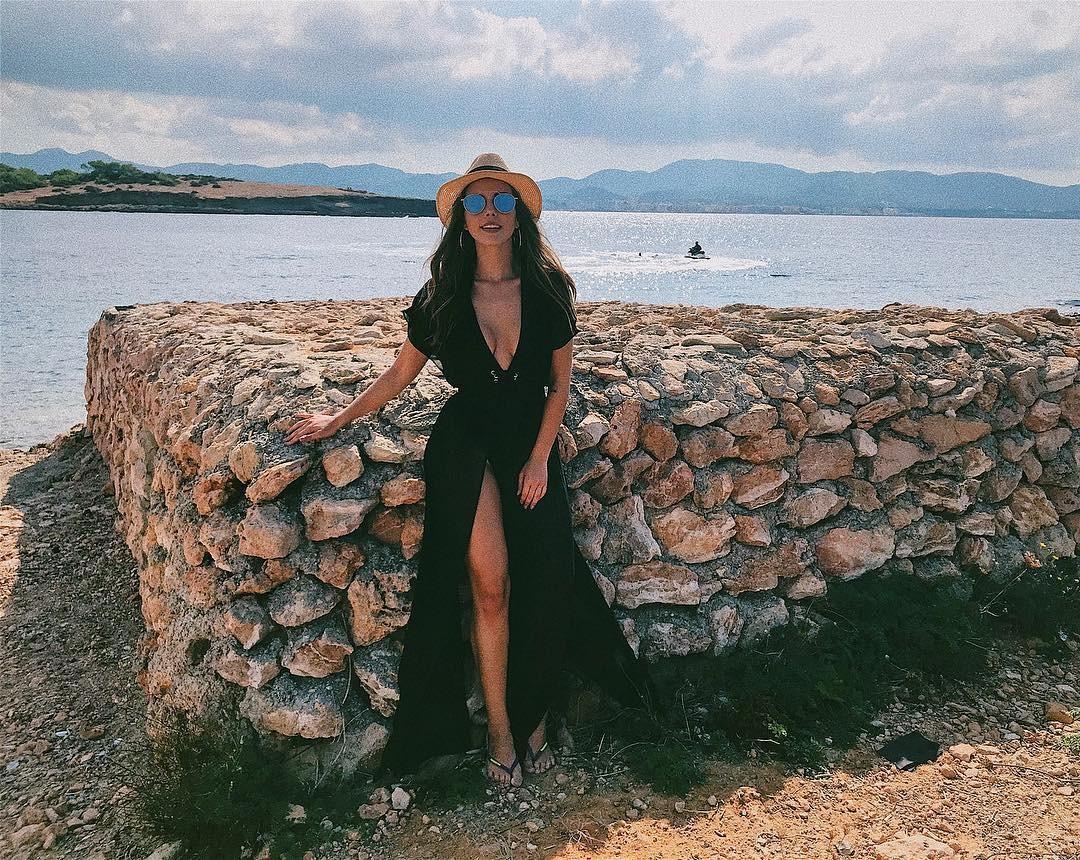 Giovanna Lancellotti na Espanha (Foto: Reprodução/Instagram)