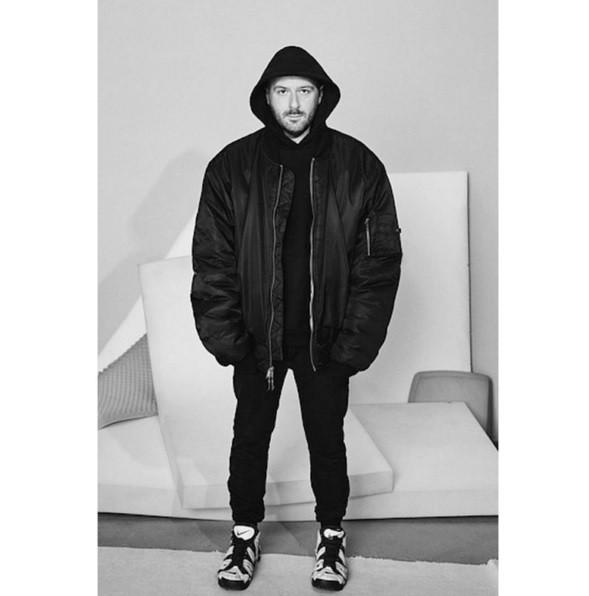 Primeira coleção masculina da Balenciaga (Foto: reprodução/instagram)