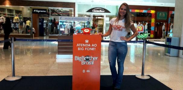 Big Fone em Maceió  (Foto: Divulgação / Marketing TV Gazeta)