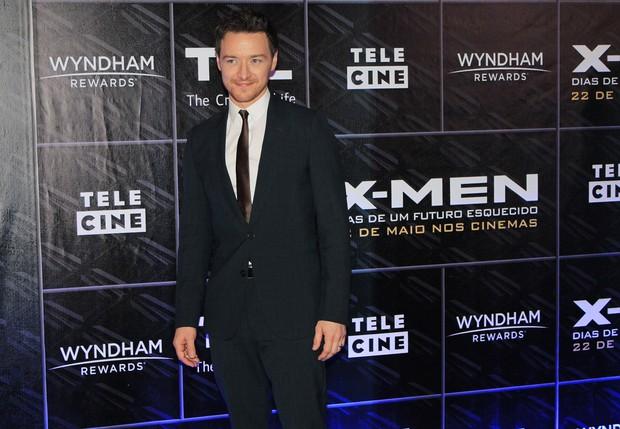 James McAvoy na pré-estreia de X-Men em SP (Foto: Celso Tavares / Ego)