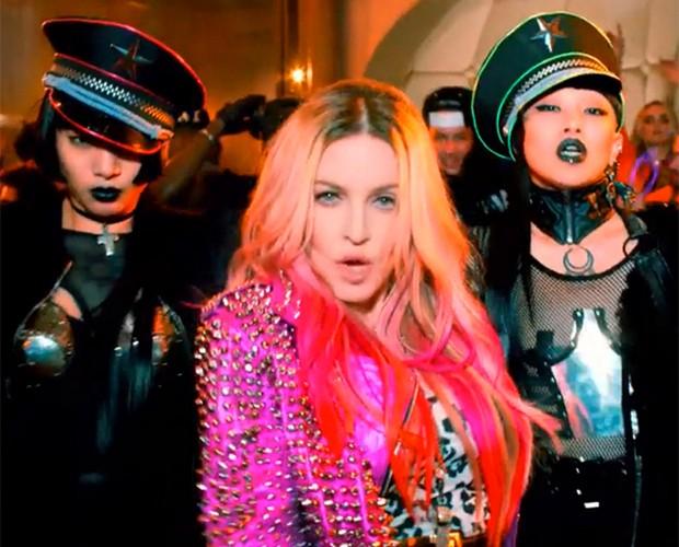Madonna planeja incluir Brasil no roteiro da nova turnê em 2016 (Foto: Reprodução)