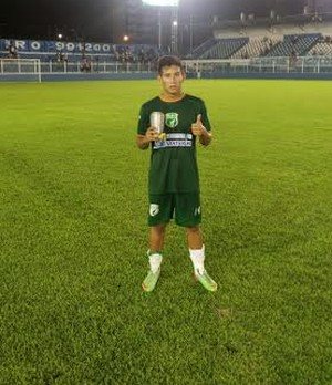 Wendell, meia do Tapajós (Foto: Divulgação/Tapajós Futebol Clube)