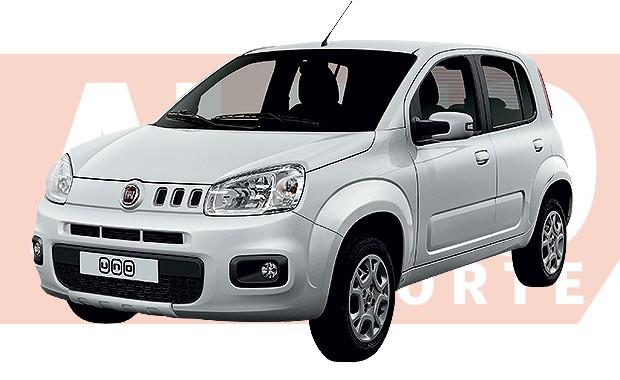 Com poucas mudanças no visual, novo Fiat Uno, chega em outubro deste ano (Foto: João Kleber Amaral/Autoesporte)