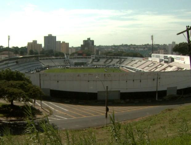 Estádio Moisés Lucarelli, em Campinas
