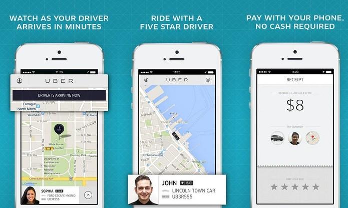 Chame um táxi e pague com cartão usando o UBer (Foto: Reprodução/Edivaldo Brito)
