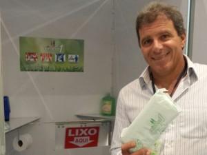 Flavio Boabaid obteve patente internacional do Número 1 (Foto: Divulgação)