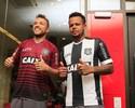 """Luis Carlos e Bill vestem a camisa do Figueira: """"Prioridade é voltar à Série A"""""""