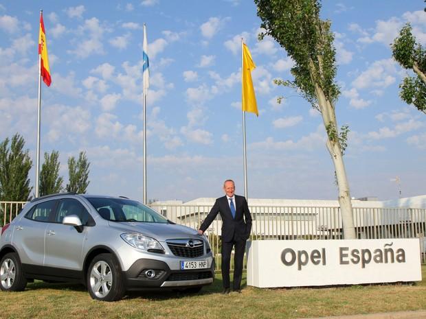Opel Mokka vai ser fabricado na Espanha (Foto: Divulgação)