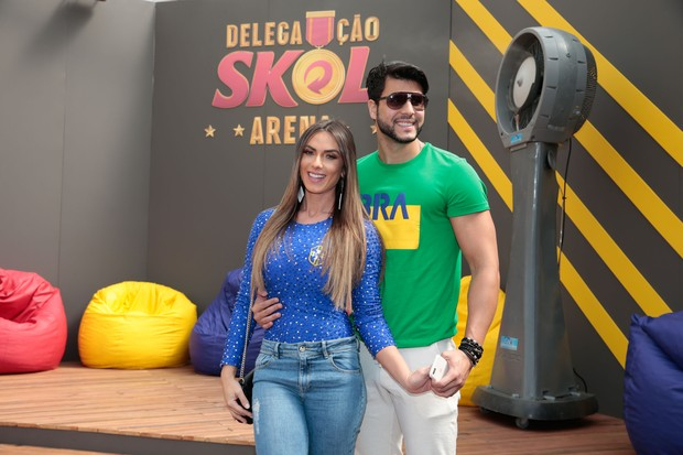 Nicole Bahls e Marcelo Bimbi (Foto: Felipe Panfili/Divulgação)