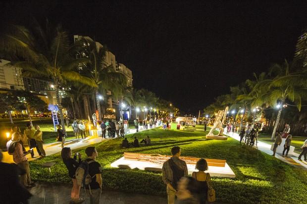 Noite de abertura do Miami Art Basel de 2013 (Foto: Divulgação)