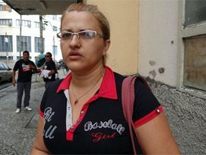 Maria Jucilânia de Lima tentou prestar queixa sobre o desaparecimento da filha (Foto: Katherine Coutinho/G1)