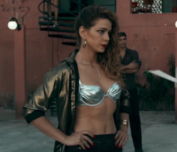 Leandra está atuando como Kellen em 'Justiça' (Foto: TV Globo)