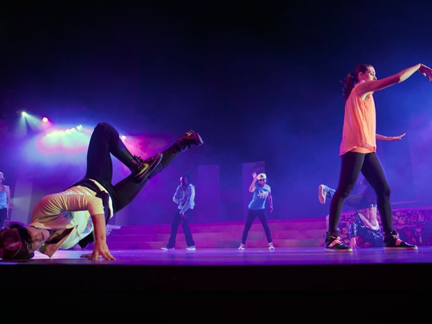 O espetáculo Illuminated Manuscript integra a mostra de Hip Hop (Foto: Rawd Emortal/ Divulgação)