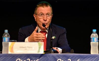 Reunião COI Gilbert Felli Rio 2016 (Foto: Marcello Dias / Agência Estado)