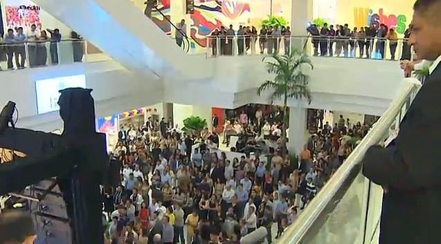Novo shopping é inaugurado, em Manaus (Foto: Bom Dia Amazônia)