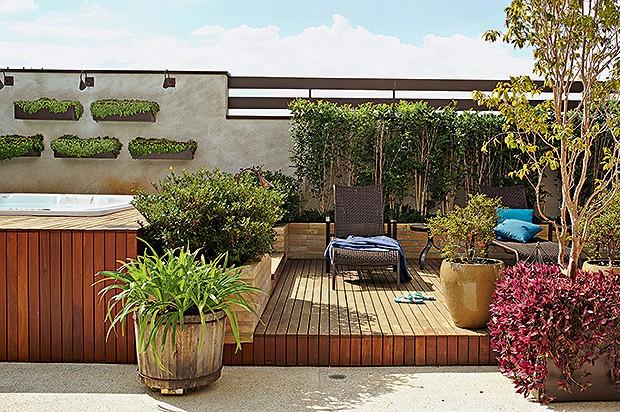 decoracao muros jardim:Decoração de jardim – Casa e Jardim