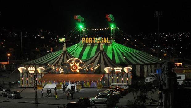 Circo Portugal Internacional estreia cheio de atrações, em Londrina (Foto: Divulgação/RPC)