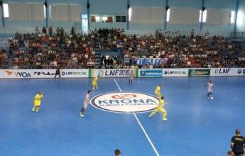 Com 4 gols de Barbosinha, M. Rondon larga na frente do Floripa nas quartas