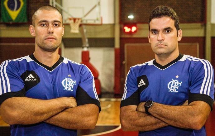 Preparadores Físicos: Rafael bernardeli e diego falcão Flamengo (Foto: Gilvan de Souza)
