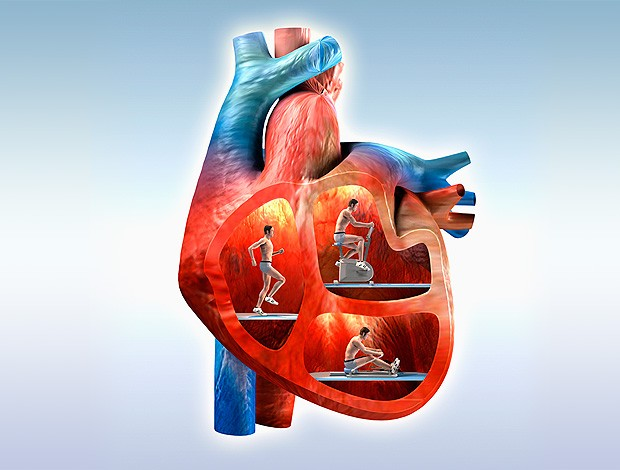 Corrida Infarto coração (Foto: Getty Images)