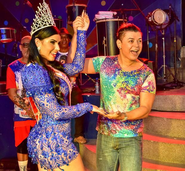 Bianca Leão e David Brazil (Foto: Vagner Souza / MF Models Assessoria )