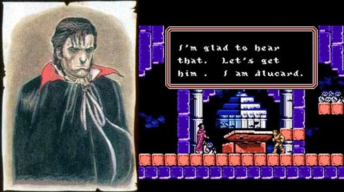Em Castlevania 3 (NES), Alucard era bem diferente (Foto: Reprodução)