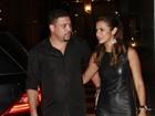 Ronaldo comemora aniversário da namorada em boate e fica noivo