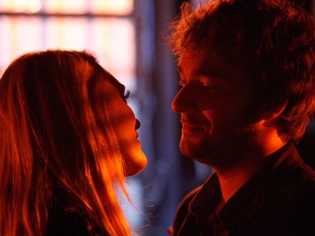 Será que Megan finalmente conquistou o coração de Davi? (Foto: Raphael Dias/TV Globo)
