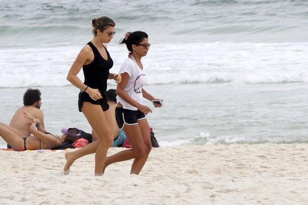 Grazi e Anna Lima (Foto: FotoRioNews)