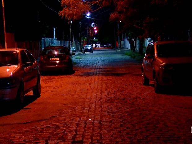 Crime aconteceu no bairro de Ponta Negra, na Zona Sul de Natal (Foto: Reprodução/Inter TV Cabugi)