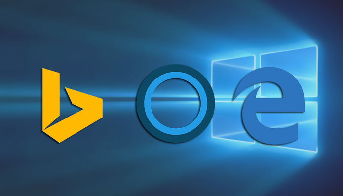 Cortana só irá funcionar com Bing e Edge no Windows 10 (Foto: Reprodução/Paulo Alves)